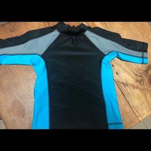 Boys rashguard / swim shirt